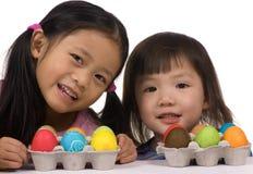 Huevos de Pascua 003 Foto de archivo libre de regalías