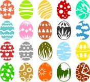 Huevos de Pascua 01 Imágenes de archivo libres de regalías