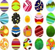 Huevos de Pascua 02 Foto de archivo libre de regalías