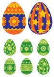 Huevos de Pascua 03 Foto de archivo libre de regalías