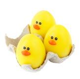 Huevos de Pascua Fotos de archivo libres de regalías
