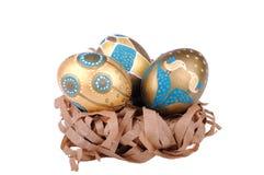 Huevos de Pascua Fotografía de archivo libre de regalías