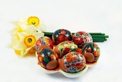 Huevos de Pascua Fotos de archivo