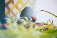 Huevos de Pascua 1 Foto de archivo libre de regalías