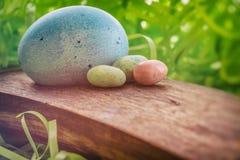 Huevos de Pascua 4 Imágenes de archivo libres de regalías