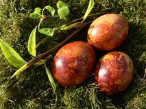 Huevos de Pascua. Fotografía de archivo libre de regalías