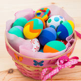 Huevos de Pascua adornados Imagen de archivo libre de regalías
