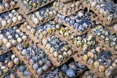 Huevos de Pascua adornados en Salzburg Fotografía de archivo