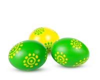 Huevos de Pascua coloreados Fotografía de archivo libre de regalías