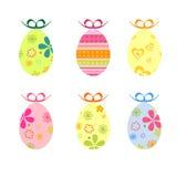 Huevos de Pascua coloridos Imagen de archivo