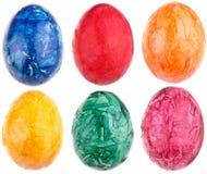 Huevos de Pascua coloridos Foto de archivo