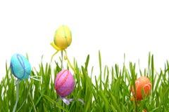 Huevos de Pascua coloridos Imagen de archivo libre de regalías