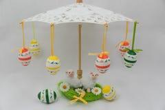 Huevos de Pascua coloridos Fotografía de archivo