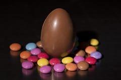 Huevos de Pascua de los paques de Joyeuses fotografía de archivo libre de regalías