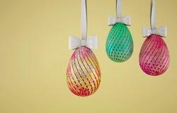 Huevos de Pascua del concepto Fotografía de archivo libre de regalías