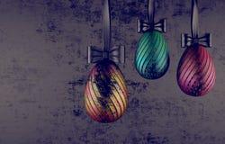 Huevos de Pascua del concepto Imagen de archivo libre de regalías