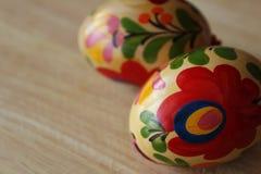 Huevos de Pascua del húngaro Imagen de archivo