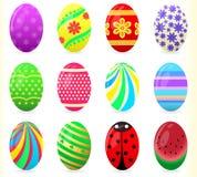 Huevos de Pascua - ejemplo Fotos de archivo