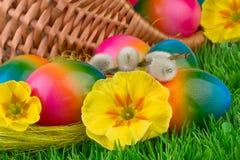 Fondo colorido de Pascua foto de archivo
