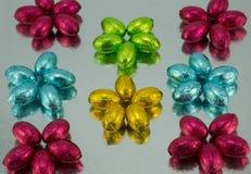 Huevos de Pascua en embalaje flexible. Fotos de archivo libres de regalías