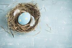 Huevos de Pascua en jerarquía Imagenes de archivo