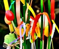 Huevos de Pascua felices Imagen de archivo