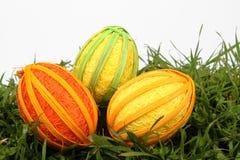 Huevos de Pascua hechos a mano Imagen de archivo