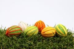 Huevos de Pascua hechos a mano Foto de archivo