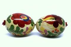 Huevos de Pascua hermosos y coloridos del húngaro Imagen de archivo libre de regalías
