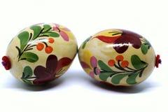 Huevos de Pascua hermosos y coloridos del húngaro Foto de archivo libre de regalías