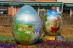 Huevos de Pascua, Koprivnica Foto de archivo libre de regalías