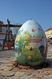 Huevos de Pascua, Koprivnica Imagen de archivo libre de regalías