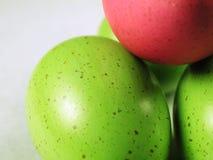 Huevos de Pascua manchados Imagenes de archivo