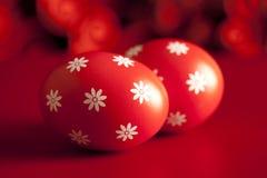 Huevos de Pascua modelados Foto de archivo libre de regalías