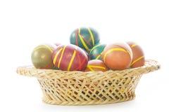 Huevos de Pascua multicolores Imagen de archivo