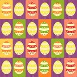 Huevos de Pascua - papel de embalaje Imagen de archivo