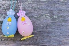 Huevos de Pascua Pascua Imagenes de archivo
