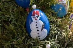 Huevos de Pascua pintados fotos de archivo