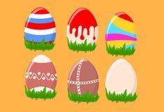 Huevos de Pascua pintados Foto de archivo