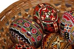 Huevos de Pascua pintados 20 Imagen de archivo libre de regalías