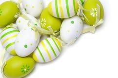 Huevos de Pascua pintados coloridos Fotografía de archivo libre de regalías