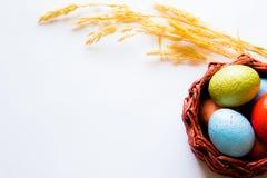 Huevos de Pascua pintados imagenes de archivo