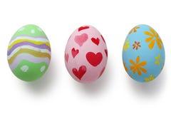 Huevos de Pascua pintados a mano Imágenes de archivo libres de regalías