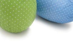 Huevos de Pascua punteados Imagenes de archivo