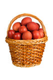 Huevos de Pascua rojos Imagen de archivo libre de regalías