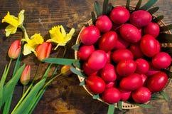 Huevos de Pascua - Rumania Imagen de archivo libre de regalías