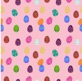 Huevos de Pascua seameless Fotografía de archivo libre de regalías