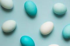 Huevos de Pascua teñidos Fotografía de archivo libre de regalías