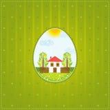 Huevos de una Pascua, vector Fotos de archivo libres de regalías