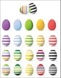 Huevos del éster stock de ilustración